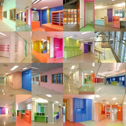 Hospital Interiors Decoration Services