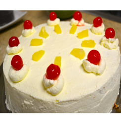 Miraculous Pineapple Birthday Cake Ananas Cake Iel Personalised Birthday Cards Akebfashionlily Jamesorg