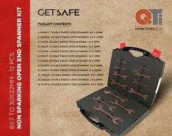 Non Sparking Open Spanner Set 6-32mm QTi Copper Titanium