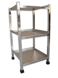 标准钢立式床头柜,尺寸:14x14x32