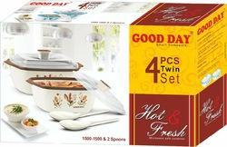 Hot & Fresh Microwave Container Twin Set