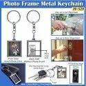 Photo Frame Metal Keychain H-529