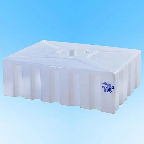 White Plastic Emergency Water Storage Loft Tank   ID