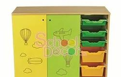School Activity Room Storage SQ-062