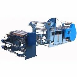 Fully Automatic Paper Bags Making Machine Grocery Shop Bags.