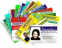 PVC ID Card Printing Service, in Local
