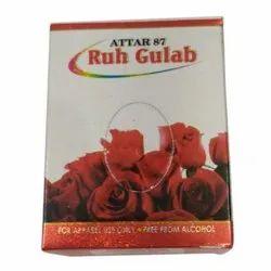 Attar 87 Ruh Gulab Perfume, Packaging Size: 8 ml