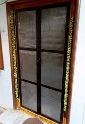 Aluminium Mesh Double Door