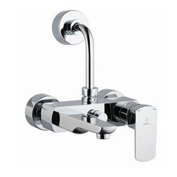 Wall Mounting Stainless Steel Jaquar Single Lever Wall Mixer, High, Jaquar-taps