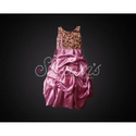 Small , Medium Large Embroidered Girls Designer Gown