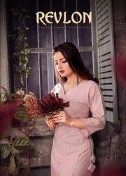 Revlon Present By Ashirwad Agency Fancy Fabric With Beeds Work