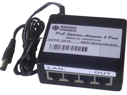 Reverse POE Injector and Splitter Adapter