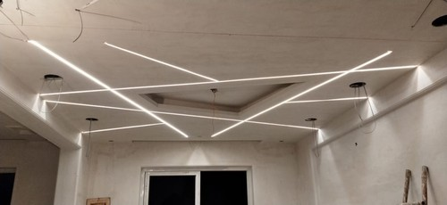 Led Linear Profile Lights Designing Installation