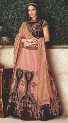 Wedding Wear Semi-Stitched Bridesmaid Lehenga Choli