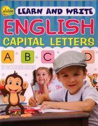 3+ Gurusthanam Learn & Write English Capital Letters, Nursery