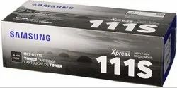 Samsung MLT D 111s Toner Cartridge Single Color Ink Toner  (Black)