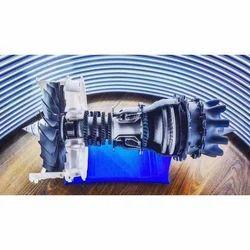 3D Printed Jet Engine Turbine Modeling Service