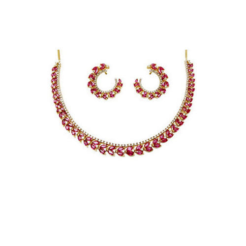 Ruby diamond bridal necklace set at rs 378000 piece ruby pendants ruby diamond bridal necklace set aloadofball Gallery
