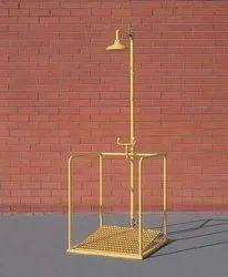 Platform Operated Safety Shower