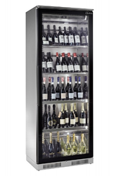 Stainless Steel Display Wine Chiller