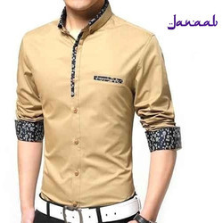 Cotton Casual Wear Men Fancy Shirt