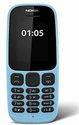 Nokia 105 Blue Mobile