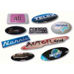 Multicolor Printed Dome Sticker, Packaging Type: Packet