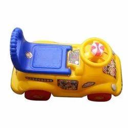 Blue, Yellow Kids Plastic Car Toys, 4