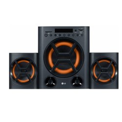 2.0 Plastic LG LK72BE Boom Blastic Multimedia Speakers