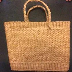 Handcrafted Kauna Reed Market Bag Large