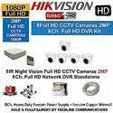 Hikvision Ds-7a08hqhi-k1 1080p (2mp) 8ch Dvr Hikvision Ds-2ce5adot-irp Dome Camera 5pcs 1-tb Hdd