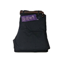 Black Cotton Mens Formal Trouser