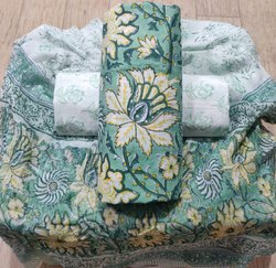 Bagru Hand Block Printed Cotton Suit Set
