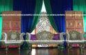 Brown Mughal Door Panel For Wedding
