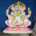 Colorful Ganesha Statue