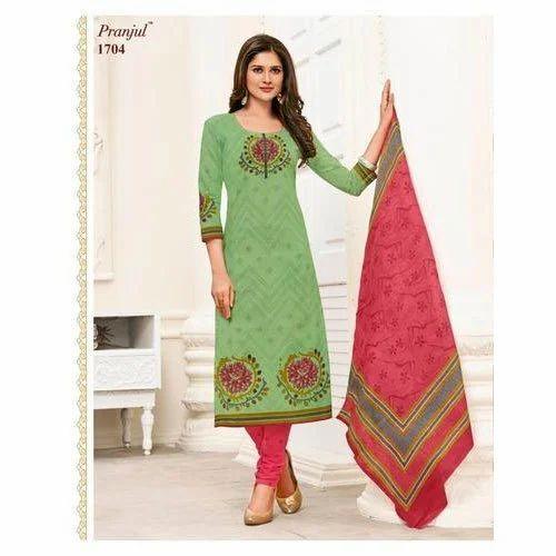 b6e73f11a8 Printed Pranjul Cotton Dress Material, GSM: 150-200, Rs 365 /unit ...