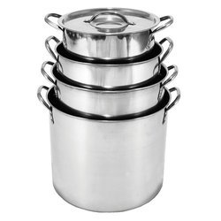 Stainless Steel Storage Stock Pot