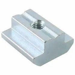 Mild Steel Round T-SLOT NUTS, For Industrial, Plastic Bag, Carton