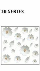 Gloss 3D Floor Tiles, Size: Medium, Thickness: 8 - 10 mm