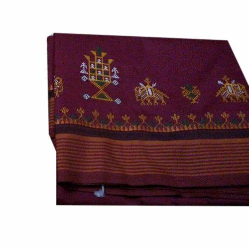 Modern Kashida Silk Saree, 6 Meter