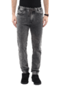 Grey Jogger Denims With Side Panel