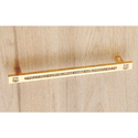 Brass Crystal Cabinet Handle