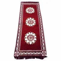 Velvet Rectangular Patti Carpets for Home, Size: 2x6 Feet