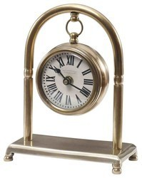 Brass Table Hanging Clock