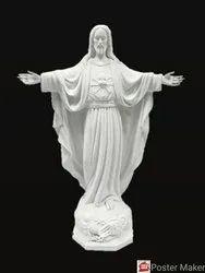 Marble Catholic God Jesus Statue