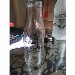 Printed Milk Bottle