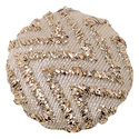Beige And Gold Round Buttons , Size/dimension: 2.5 Cm X 2.5 Cm X 0.5 Cm