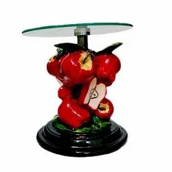 Polyresin Fruits Table