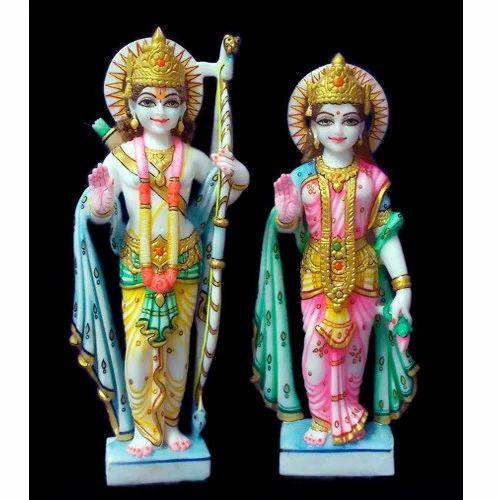 Marble Ram Sita Statue - Ram Sita Statue Manufacturer from