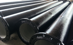 Supra Group Cast Iron Double Flanged Pipe, Size/Diameter: 80 to 1200 mm, for Drinking Water